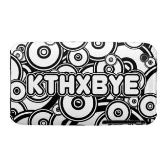 Caso de KTHXBYE iPhone 3 Case-Mate Cárcasas