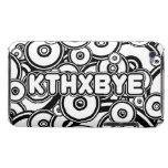Caso de KTHXBYE iPod Case-Mate Cobertura