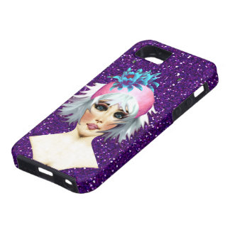 Caso de la belleza iPhone5 de Bling iPhone 5 Carcasas