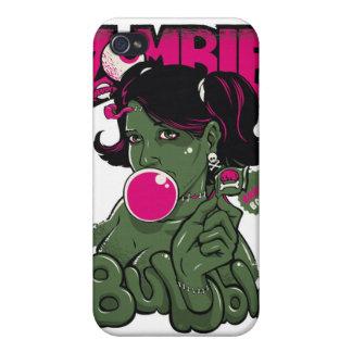 Caso de la burbuja del zombi iPhone 4/4S carcasas