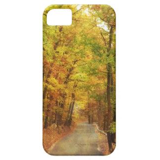Caso de la carretera nacional iPhone5 del otoño iPhone 5 Case-Mate Cárcasas