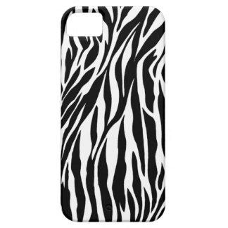 caso de la cebra iphone5 iPhone 5 carcasas