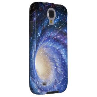Caso de la célula de la deformación del espacio funda galaxy s4