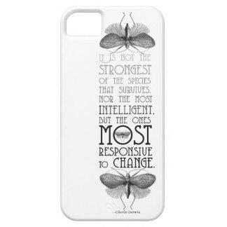Caso de la cita iphone5 de Darwin iPhone 5 Fundas