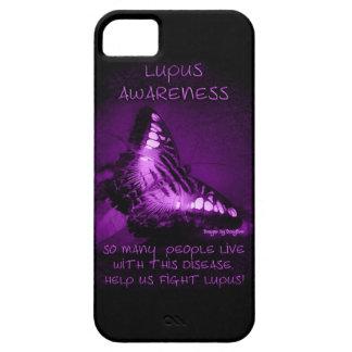 Caso de la conciencia iPhone5 del lupus iPhone 5 Fundas