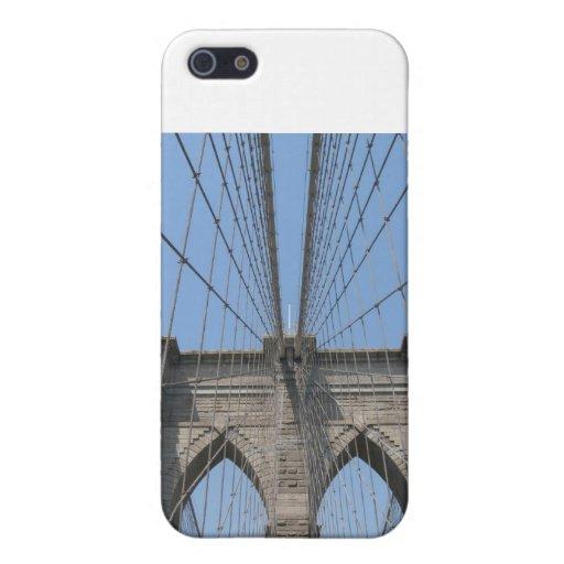 Caso de la cubierta de Iphone 3 del puente de Broo iPhone 5 Protector