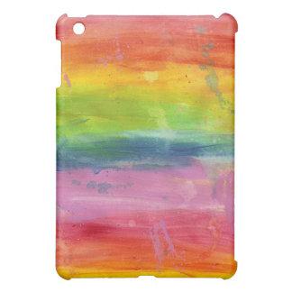 Caso de la cubierta del iPad del arte de la pintur