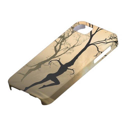 Caso de la cubierta del iPhone 5 de los árboles de iPhone 5 Carcasa