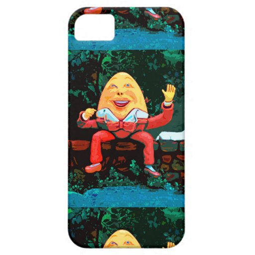 CASO de la DIVERSIÓN de HUMPTY DUMPTY IPHONE 5s iPhone 5 Case-Mate Carcasa