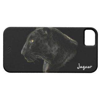 Caso de la fauna iPhone4 del gato grande de Jaguar iPhone 5 Carcasas