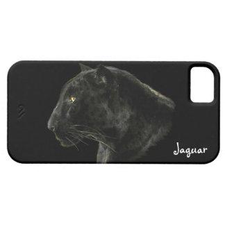 Caso de la fauna iPhone4 del gato grande de Jaguar iPhone 5 Funda