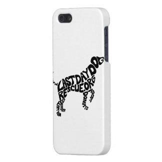 Caso de la forma iphone5/5S del perrito de LDDR iPhone 5 Carcasas