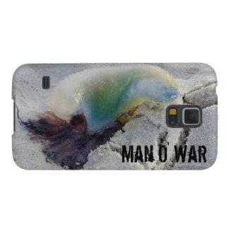 Caso de la guerra S5 de O del hombre Carcasas Para Galaxy S5