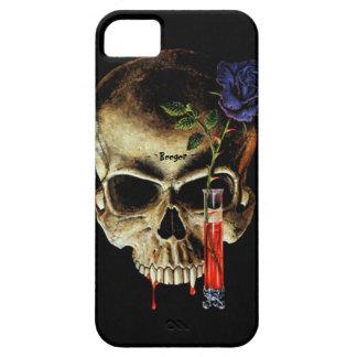 Caso de la identificación de Iphone 5 - sangre y iPhone 5 Carcasas