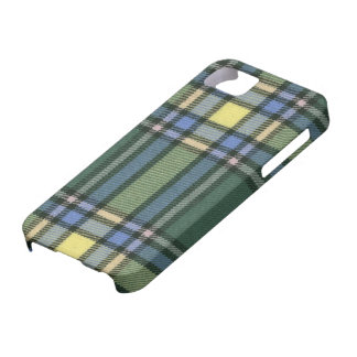 Caso de la identificación del iPhone 5 del tartán iPhone 5 Carcasa