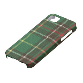 Caso de la identificación del iPhone 5 del tartán iPhone 5 Carcasas