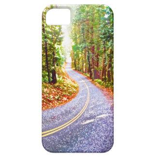 Caso de la impulsión del bosque iPhone 5 funda