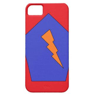 Caso de la insignia de las comunicaciones iPhone 5 carcasa