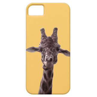 caso de la jirafa del iPhone 5 Funda Para iPhone 5 Barely There