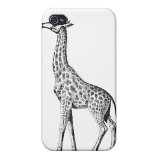 Caso de la jirafa iPhone 4/4S carcasa