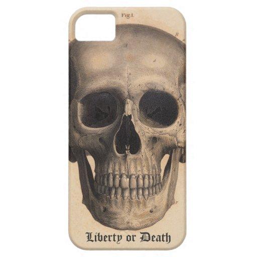 Caso de la libertad o de la muerte iPhone 5 carcasa