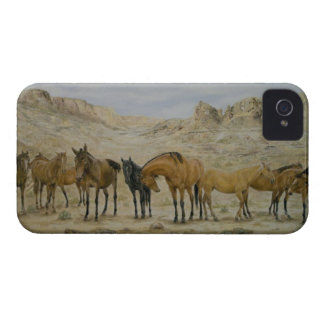 Caso de la manada iPhone4/4S del caballo Carcasa Para iPhone 4 De Case-Mate