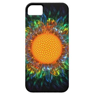 Caso de la margarita iphone5/5S del resplandor iPhone 5 Fundas
