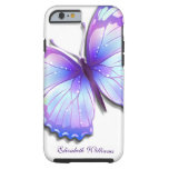 Caso de la mariposa B Funda Para iPhone 6 Tough