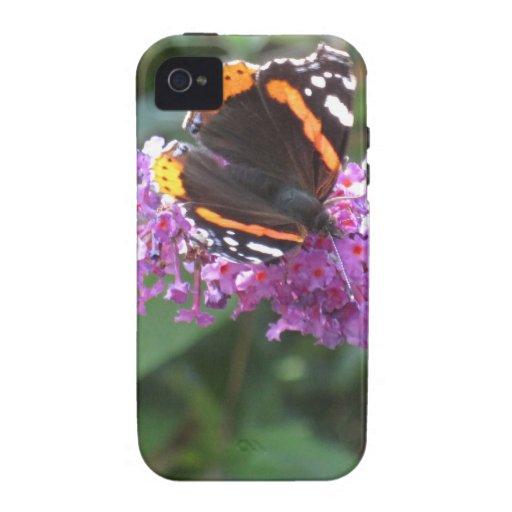 Caso de la mariposa de Iphone 4/4s duro iPhone 4 Carcasa