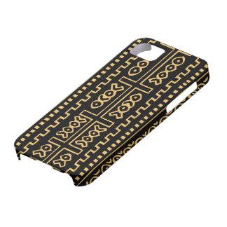 Caso de la moda del paño del fango iPhone 5 carcasa