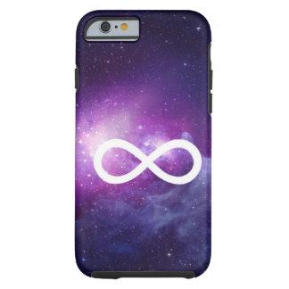 caso de la muestra del infinito de la galaxia del funda de iPhone 6 tough