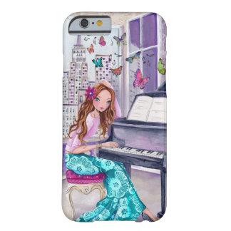 Caso de la música el | Iphone 6 de la mariposa del Funda Barely There iPhone 6