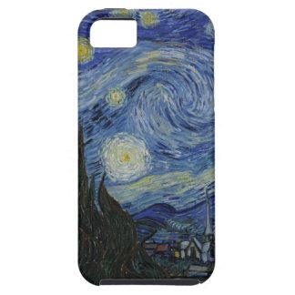 caso de la noche estrellada de la casamata del iPhone 5 carcasa