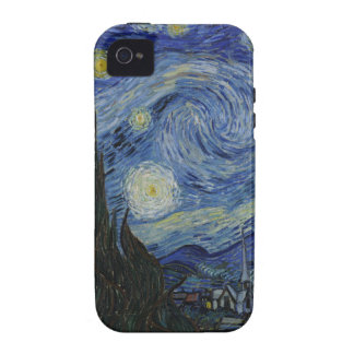 Caso de la noche estrellada del iPhone 4 de Tough™ iPhone 4 Carcasa