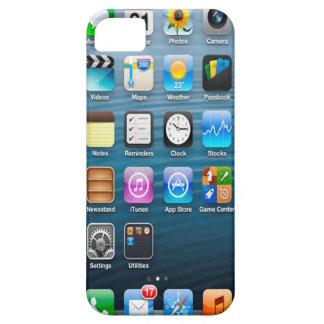 caso de la opinión del interfaz del iPhone 5/s par iPhone 5 Carcasas