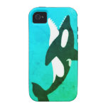 caso de la orca del iPhone 4/4s iPhone 4 Fundas