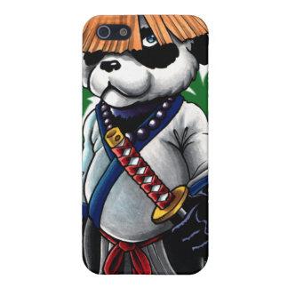 Caso de la panda Iphone4/4s del samurai iPhone 5 Cárcasa