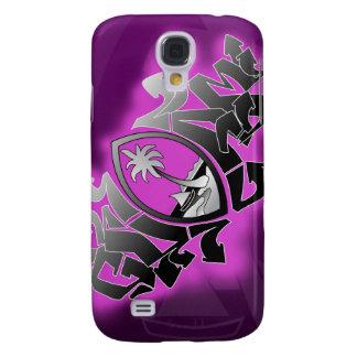 Caso de la pintada 3GS IPhone de Guam Funda Para Galaxy S4