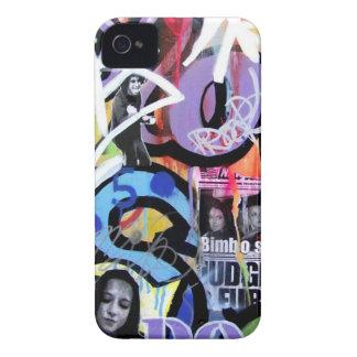 ¡Caso de la pintada de IPHONE 4/4S Barely There! iPhone 4 Protectores