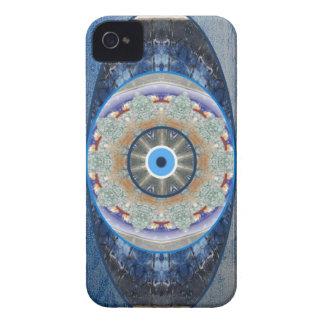 """Caso de la protección iPhone-4 del """"mal de ojo"""" iPhone 4 Carcasas"""