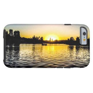 Caso de la puesta del sol de California Funda Resistente iPhone 6