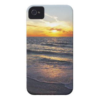 caso de la puesta del sol de la playa del iPhone 4 iPhone 4 Case-Mate Fundas