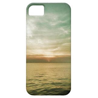 caso de la puesta del sol del iPhone 5 iPhone 5 Carcasas
