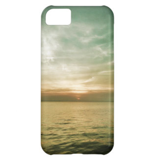 caso de la puesta del sol del iPhone 5 Funda Para iPhone 5C
