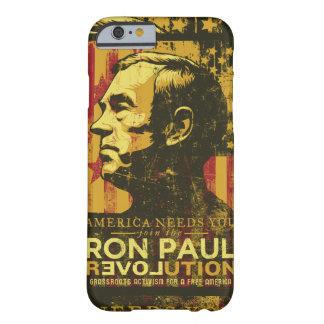Caso de la revolución de Ron Paul Funda De iPhone 6 Barely There