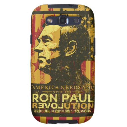 Caso de la revolución de Ron Paul Galaxy S3 Fundas