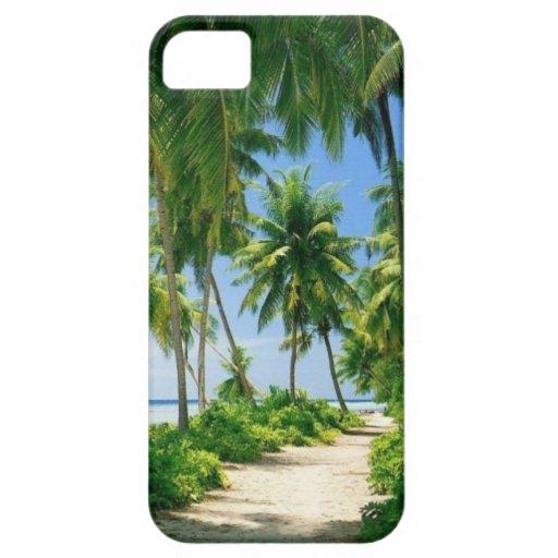 Caso de la vida iPhone5 de la playa iPhone 5 Cárcasa