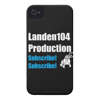 Caso de Landen104 Blackberry iPhone 4 Protector