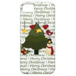 Caso de las Felices Navidad del iPhone lindo 5 del iPhone 5 Carcasas