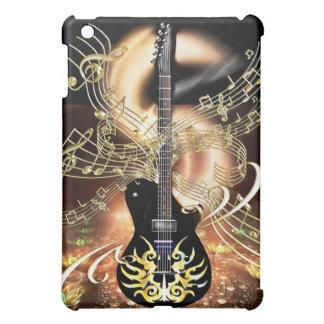 Caso de las notas de la guitarra mini del iPad de